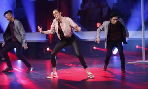 DANSET: Mens Susanne Furøy Wergeland fortsatt jobbet i TV 2 Sporten, var hun også å se i «Mitt Dansecrew» på kanalen. Foto: Terje Bendiksby / NTB scanpix