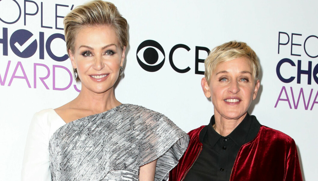 <strong>FLYTTET UT:</strong> Ellen DeGeneres og Portia de Rossi ble sammen i 2004, men nå kan de imidlertid se ut til at ekteskapet kan gå mot slutten. Foto: John Salangsang/BFA/REX/Shutterstock / NTB Scanpix.&nbsp;