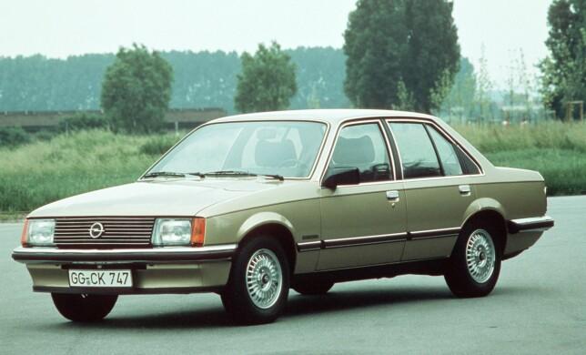 Opel Rekord fra 1982.