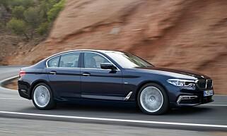 Dagens luksuriøse 5-serie. Foto: BMW