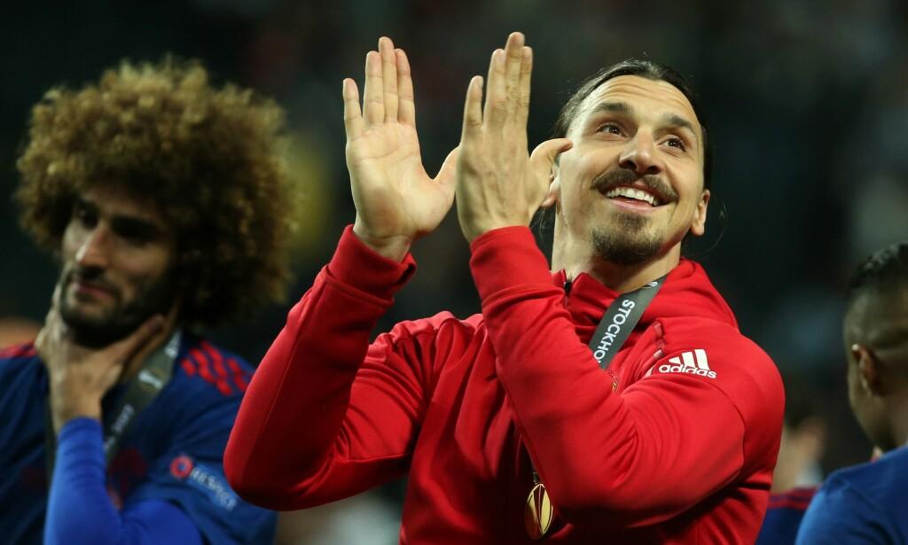 RETUR: Kan de Røde Djevlene få muligheten til å klappe for Zlatan igjen? Foto: AFP PHOTO / Soren Andersson