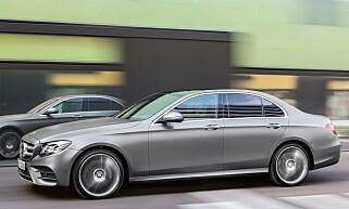 Mercedes-Benz E-klasse. Foto: Mercedes-Benz