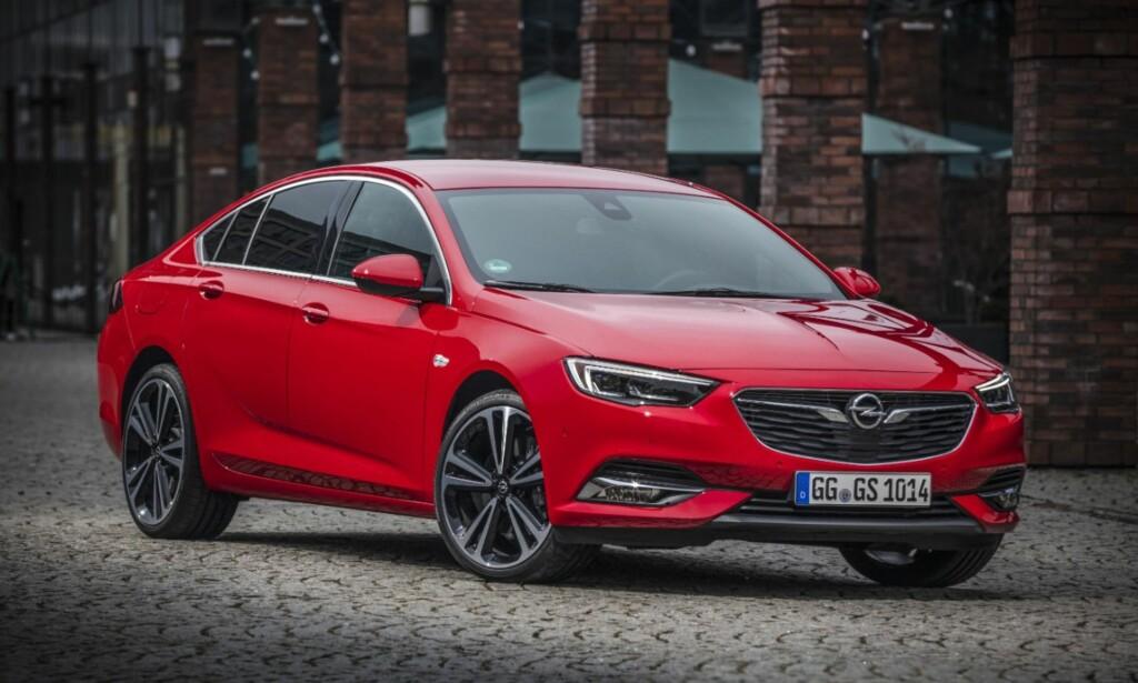 Opel Insignia Grand Sport fra 2017. Foto: Opel