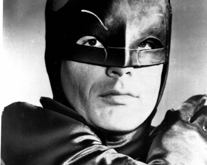 <strong>BATMAN:</strong> West var en av de første som spilte den maskerte superhelten. Foto: AP, NTB scanpix
