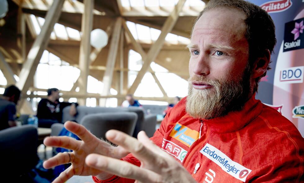 ASTMAMEDISIN: Norge sender 6000 doser astmamedisin til OL. Martin Johnsrud Sundby er blant utøverne som har tilstanden. Foto: Bjørn Langsem / Dagbladet