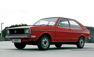 VW Passat fra 1973.