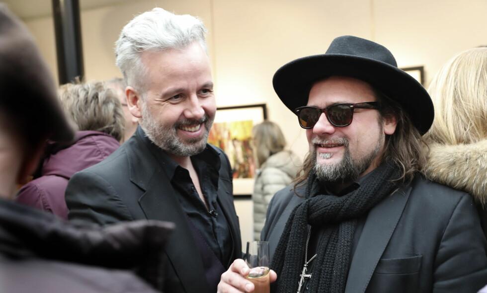 VIL LAGE TV: Ari Behn og Per Heimly har lenge vært gode venner. Nå vil de lage TV sammen. Foto: NTB scanpix