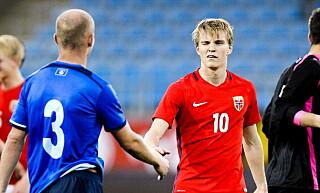 ROLIG: I likhet med Johannes Høsflot Klæbo tar Martin Ødegaard oppmerksomheten med knusende ro. Foto: John T.Pedersen / Dagbladet
