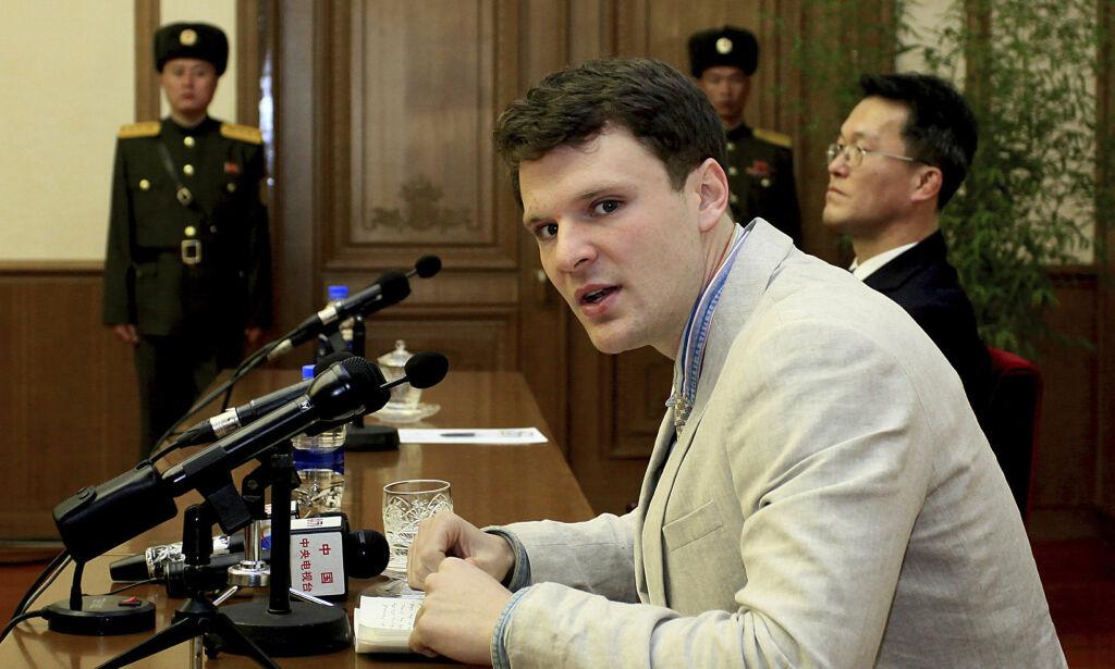 image: - Løslatt student (22) fra Nord-Korea ligger i koma