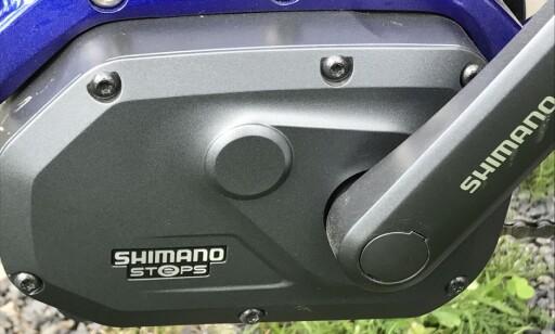 MOTOR: Steps E6000 er Shimanos rimeligste variant. Foto: Tore Neset
