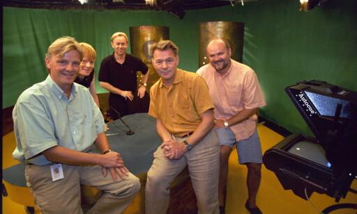 VETERAN: Tom Strømnæss har vært tilknyttet TVNorge i 25 år. Han var blant annet med og startet den kortlivede Nyhetskanalen som leverte nyheter til TVNorge i 1997–98. Foto: Siv-Elin Nærø
