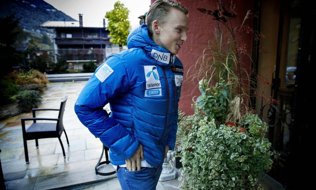 I KULDEN: Henrik Kristoffersen får ikke trene med alpinlandslaget, melder NRK. Foto: Bjørn Langsem / Dagbladet
