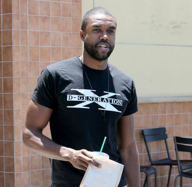 - EN FANTASTISK JENTE: DeMario Jackson hevdet sin uskyld, da han møtte Entertainment Tonight i Los Angeles.Foto: Splash News / NTB Scanpix
