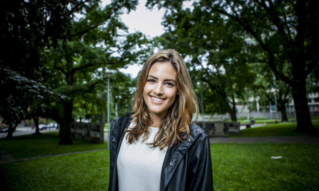 BYTTER JOBB: Samantha Skogrand går fra TV 2 til Radio Norge. Hva hun skal jobbe med i radiokanalen er foreløpig ukjent. FOTO: Christian Roth Christensen / Dagbladet
