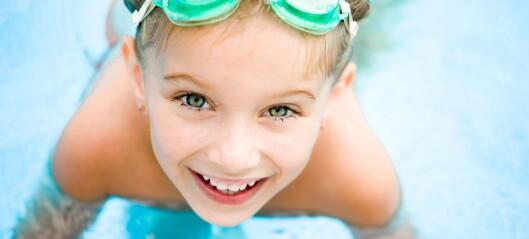 Antall drukningsulykker blant barn varierer etter hvor godt eller dårlig sommerværet er