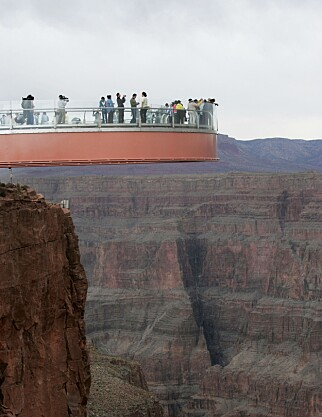 GOD UTSIKT: Hesteskobrua over Grand Canyon i USA. Foto: NTB Scanpix