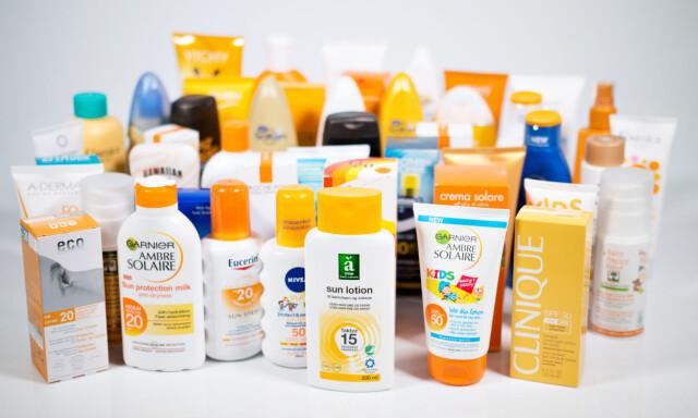 c7232ac0 KUN 8 av 45 FÅR BESTÅTT: Forbrukerrådet har sjekket innholdsstoffene i  solkremer, og funnet