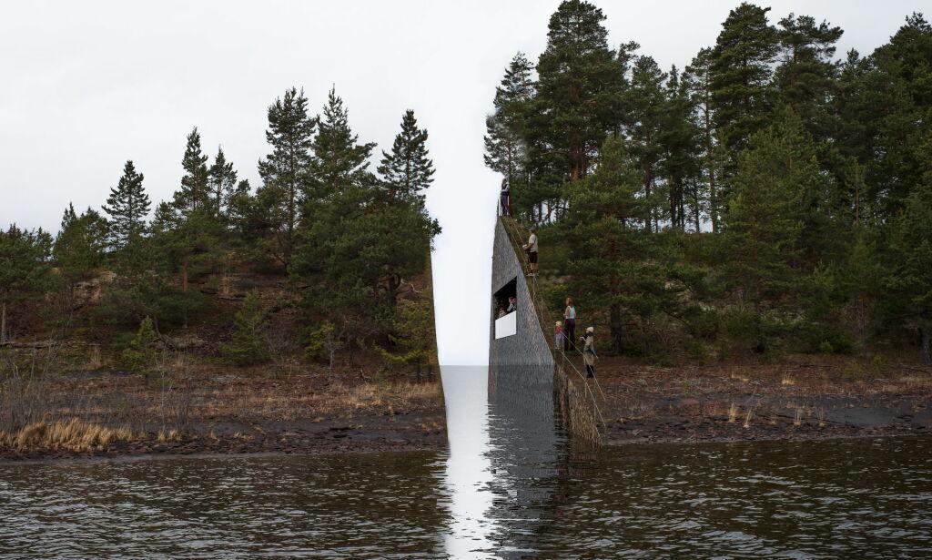 image: Sanner maner til ro om Utøya-minnesmerke