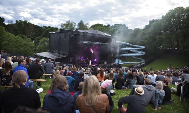 TILBAKE I FROGNERBADET: Glissent på første dag av Norwegian Wood 2017, men det kan rette seg fredag og lørdag. Foto: Frank Karlsen / Dagbladet