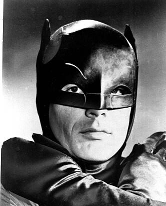 <strong>60-TALLET:</strong> Slik så Adam Wests Batman ut på 1960-tallet. Foto: NTB Scanpix