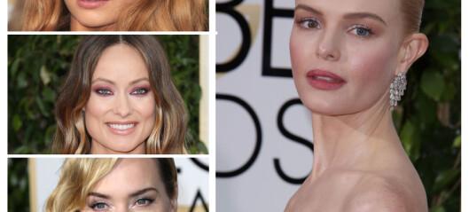 De hotteste sminketrendene fra Golden Globes