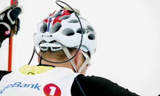 NY TEKNOLOGI: Denne GPS-teknologien skal gi Norge et fortrinn i jakten på OL-gull i Pyeongchang kommende vinter. Foto: Bjørn Langsem / Dagbladet