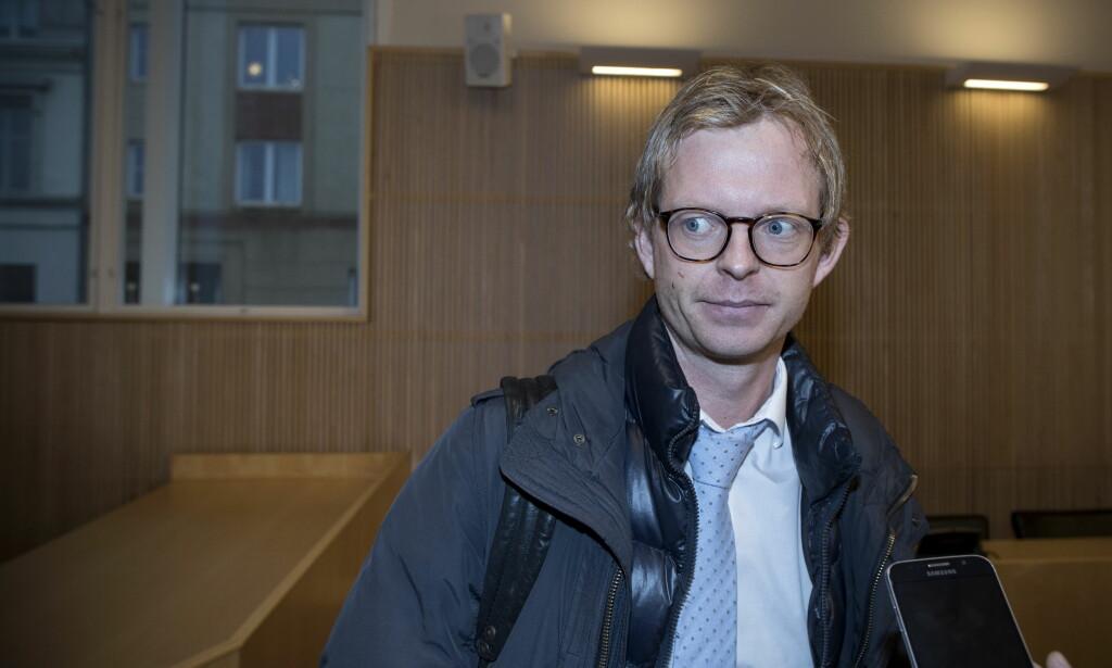 VIL IKKE KOMMENTERE: Svein Kjetil Stallemo er oppnevnt som forsvarer for 16-åringen, som er tiltalt for dobbeltdrapet i Kristiansand. Han ønsker ikke å kommentere en ny Kripos-rapport. Foto: Tomm W. Christiansen / Dagbladet
