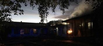 Barnehage i Oslo fikk store skader etter brann