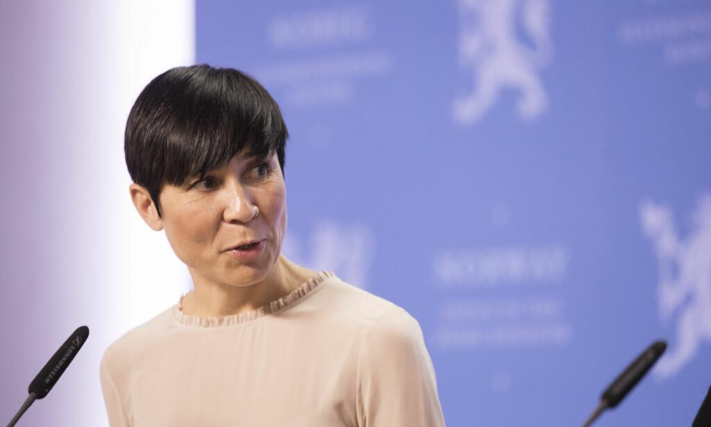 NY UTENRIKSMINISTER: Ine Eriksen Søreide nevnes som en aktuell kandidat til jobben som utenriksminister etter Børge Brende. Foto: Berit Roald / NTB scanpix