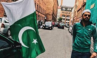 FEIRET: Mohsan Raja (bildet) tok initiativ til feiring i gatene på Grønland og Tøyen. Foto: Privat