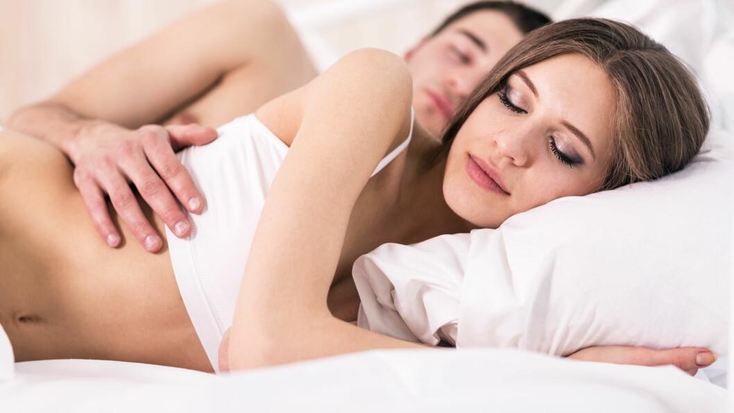 SEXLYST - MIDT PÅ NATTEN: - Våkner man for å ha sex med partneren, og begge parter er klare og har lyst til dette, er det selvfølgelig ingenting som er bedre, forteller sexologisk rådgiver, Ulla Aasland. Foto: llhedgehogll - Fotolia
