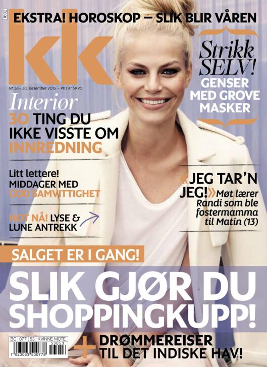 NYTT NUMMER: KK nr. 53 med er i salg fra 30. desember.  Foto: Kamilla Bryndum
