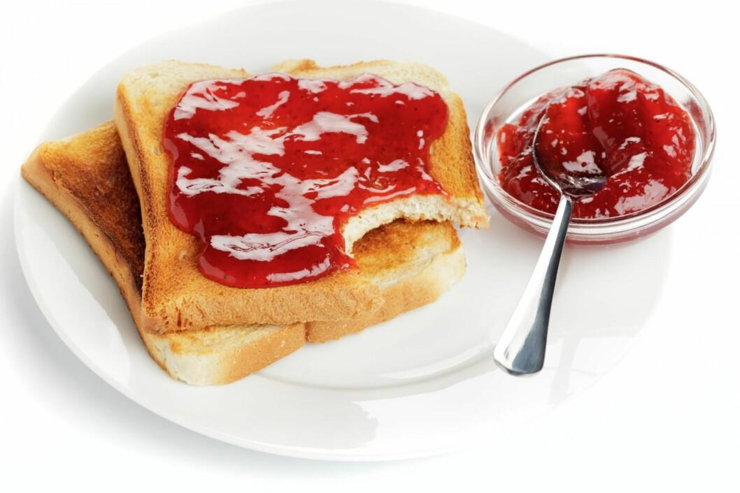NEI-MAT: Mat med mye sukker og stivelse bidrar til både betennelser og depresjon. Foto: SHUTTERSTOCK