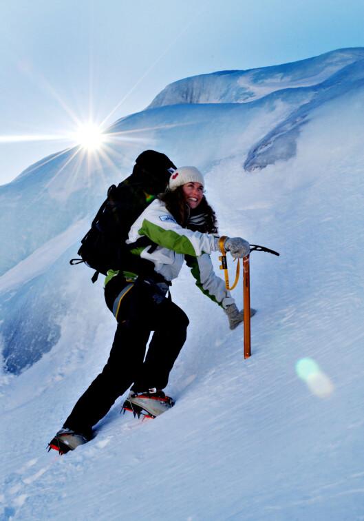 EKSPERTEN: Cecilie Skog er fjellklatrer og ekspedisjonsfarer, og mest kjent for sine turer til Mount Everest, Sydpolen og Nordpolen. Foto: Agnete Brun/Dagbladet - All Over Press