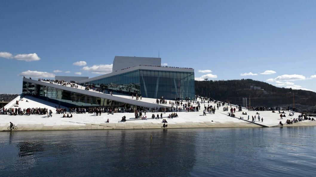 OSLO RUNWAY HOLDES I DEN NORSKE OPERA: I år flytter arrangørene visningene fra Kulturkirken Jakob til Den Norske Opera & Ballett. I tillegg vil det hele strekke seg over to dager.  Foto: Erik Berg / Operaen.no