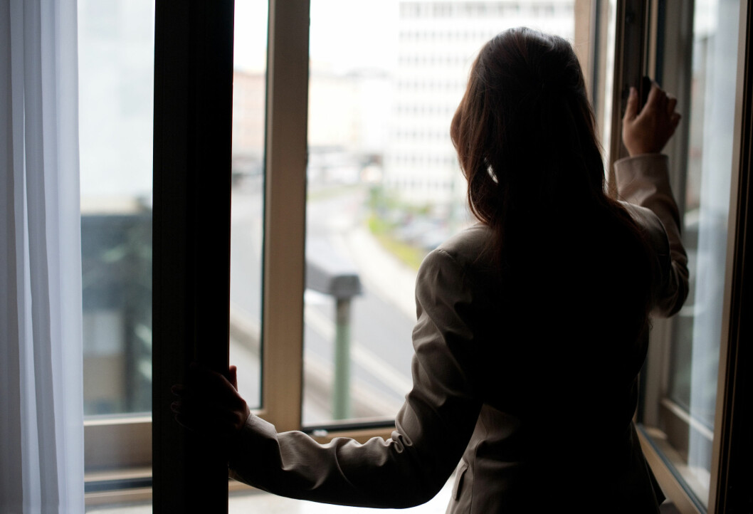 FRYKT: Grunnen til at mange blir værende i usunne relasjoner handler ofte om frykt for å være alene. Foto: Jan Haas / NTB scanpix
