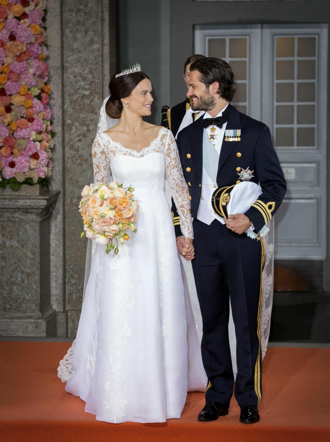 NY PRINSESSE: I sommer fikk Sverige en ny prinsesse da tidligere Paradise Hotel-deltaker Sofia Hellqvist giftet seg med prins Carl Philip.  Foto: Danapress