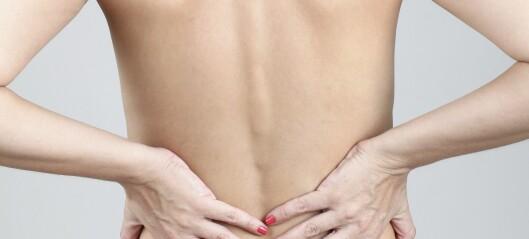 Har du ofte vondt i korsryggen?