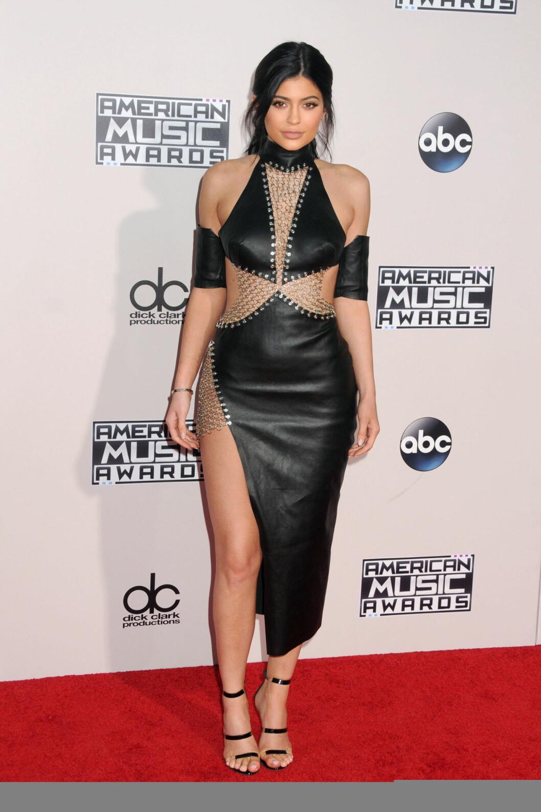 Kylie Jenner på American Music Awards Foto: SipaUSA