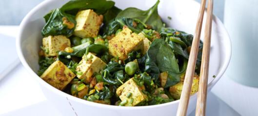 #Kjøttfri mandag: karristekt tofu