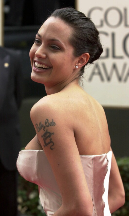 FJERNET MINNET: Fra 2000 til 2003 var Angelina Jolie gift med Billy Bob Thorton. Foto: AP
