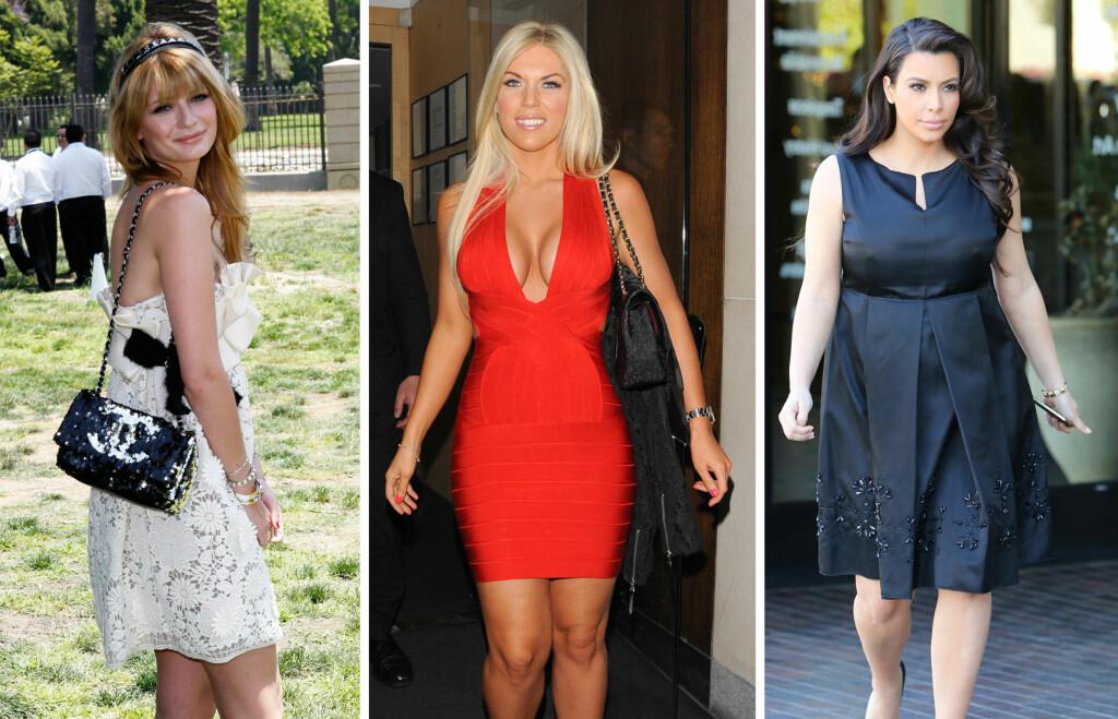 bddb9d52 IKKE SLIK: Hvit kjole, rød utringet kjole eller svart kjole er egentlig