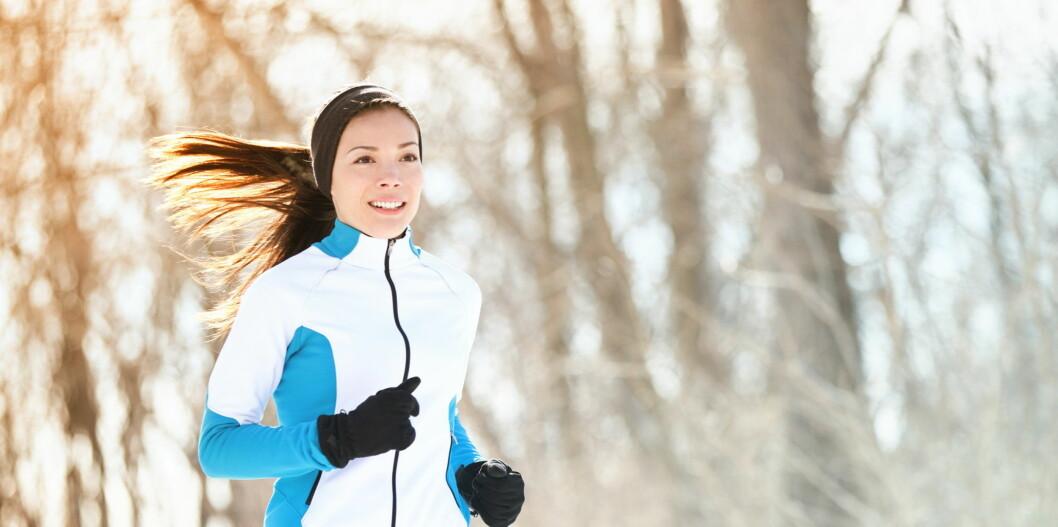 FÅ OPP PULSEN: Bruk jula til å fortsette treningen, eller komme i gang med din nye livsstil. Foto: Maridav - Fotolia