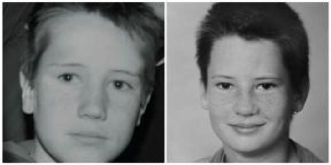 <strong>STORT SAVN:</strong> Disse bildene er de siste Astrid har av guttene sine, Robert (t.v.) og Christopher (t.h.).  Foto: Privat