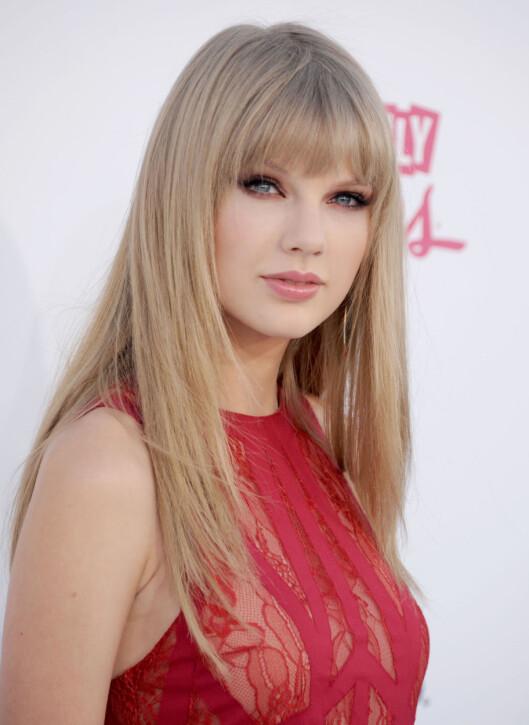 <strong>BLEK OG VAKKER:</strong> Taylor Swift bruker nok ikke solarium, gitt. Foto: All Over Press