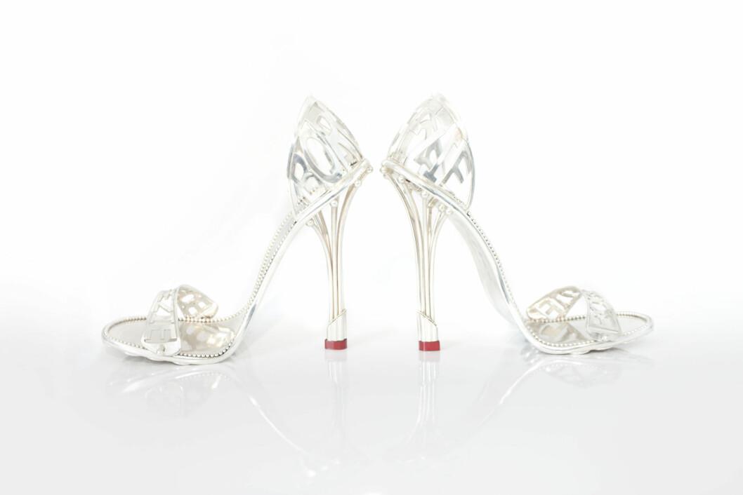 <strong>HAR TATT 100 TIMER Å LAGE:</strong> The House of Borgezie har laget en sko som skal gjøre kvinnen vakker og feminin, og få henne til å føle seg som en prinsesse - ikke minst tømme lommeboken hennes for noen kroner...