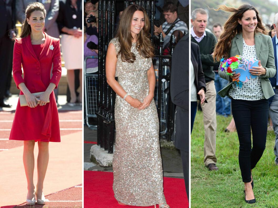 <strong>PÅ FAVORITTKUNDELISTEN:</strong> Designeren bak luksusskoen, Christopher Shellis, drømmer om at Kate Middleton - hertuginnen av Cambridge - skal gå i dem en vakker dag.