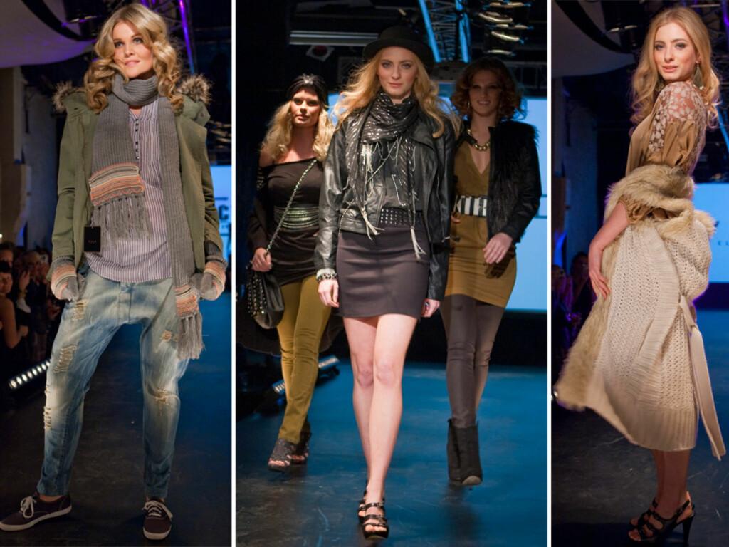 KOMMER SNART I BUTIKKENE: Only, Vero Moda og VILA var blant merkene som viste fram sine ferskeste trender torsdag.  Foto: Per Ervland