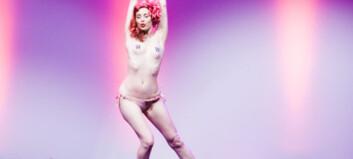 Striptease på catwalken