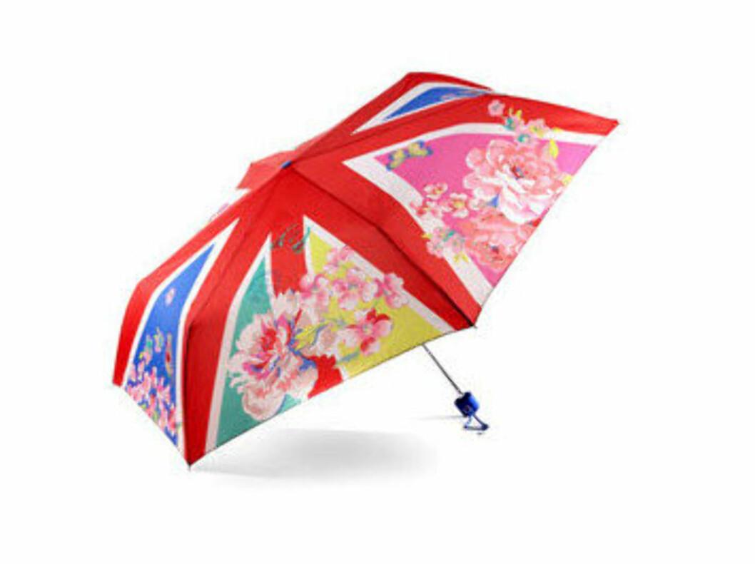 En blomstrete Union Jack (kr 189/Accessorize). Foto: Produsent